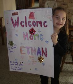 """A sibling joyfully welcomes home her newly adopted brother, Ethan. His adoptive mom says, """"I love this little guy with all my heart. I have no idea what the future will hold for him, but the same is true for any of my children. God has placed him in our family and he has a special place in my heart."""" Beautiful."""