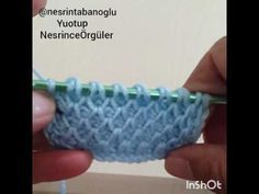 Tunesisch Häkeln - Crazy Pattern from Susi For those of you wondering how to make a crochet sample, we will offer you very good narrative video narration. Tunisian Crochet Stitches, Knitting Stitches, Knitting Patterns, Crochet Patterns, Crochet Cord, Love Crochet, Crochet Motif, Knitting Videos, Crochet Videos