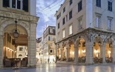 WITH ITS ELEGANT VENETIAN ARCHITECTURE, FINE MUSEUMS AND, UNIQUELY, A CRICKET PITCH, CORFU'S CAPITAL IS THE HEART OF THE IONIANS