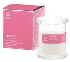 Urban Rituelle Scented Offering Euphoria Soy Candle. Sweet scent of fresh guava & lychee