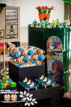 Skater + Skate Park Party Full of Fabulous Ideas via Kara's Party Ideas | KarasPartyIdeas.com #Skateboard #PartyIdeas #PartySupplies #Skater