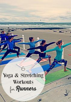 Yoga and stretching are the perfect compliment to running heres 6 yoga and stretching workouts for runners to help you stay injury free! #running