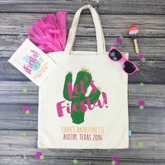 Who's ready for a FIESTA?! These adorable OH SHIT KIT + LETS FIESTA bags are off to a fab bachelorette in Austin, Texas!