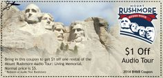 Mount Rushmore Coupon