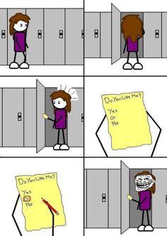So funny! XD