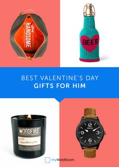 Is your man a manly man? Then you have to see these amazing Valentine's Day gifts ideas for him!