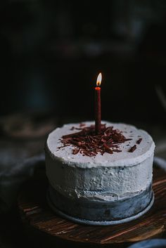 Dark Chocolate Cake With Lavender Ganache + A Portland Workshop | by Eva Kosmas Flores