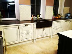 Kitchen Cabinets, Home Decor, Kitchen Maid Cabinets, Interior Design, Home Interiors, Decoration Home, Kitchen Cupboards, Interior Decorating, Home Improvement