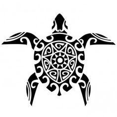 taouage tortue maori tattoo: Tatouage décalcomanie exclusif motif tortue tribale…