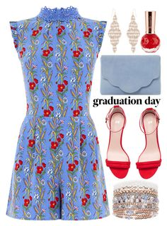"""Graduation with a short budget"" by alaria ❤ liked on Polyvore featuring Dune, Accessorize and Graduation"