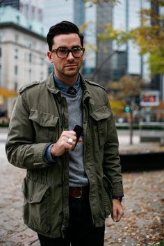 men's casual layered street style // fall fashion