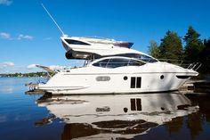 Azimut 40 Fly, kun gått 40 timer! - Boat, Dinghy, Boats, Ship