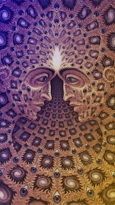 Alex Grey from Tool's album cover 10,000 days My