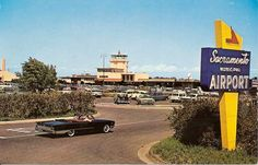 Sacramento Airport Parking, 1960