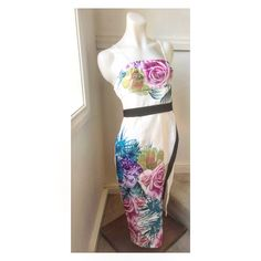 Size 10: Tropical dress AVAILABLE