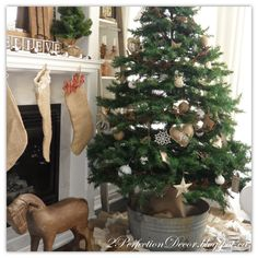 2Perfection Decor: Our French Country Christmas Tree