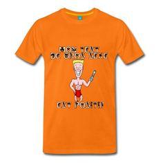T-shirt pour les hommes, les vrais : Mon TEST de GROS SEXE est positif Dessin : Yann Le Barze  #tshirt #viril #potache #beaugosse #jeuxdemots #test #mâle #zizi #sexe #caleçon #humour #drôle #francoisville #geek #citation #gros #amour #love #slip #grossesse #positif #enceinte #calbute #spreadshirt #yannlebarze
