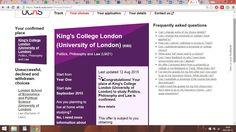 Nasza Ambasadorka - Ola Wójtowicz - rozpoczyna studia na King's College!