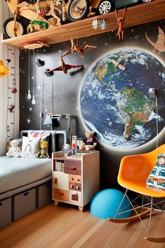 Apartamento Ipanema CK / André Piva #quarto #crianca #bedroom #kids #fun #whimsical
