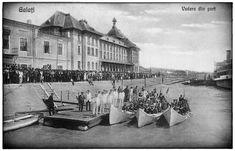 (foto) Ziua Marinei - 1928 - Vedere din Port • Știrile Galațiului Romania, Banner, Painting, Art, Banner Stands, Art Background, Painting Art, Kunst, Paintings