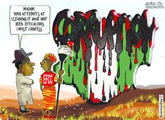 Corruption is very endemic in Nigeria system. Nigeria is seen as a corrupt nation and Nigerians are seen as corrupt.