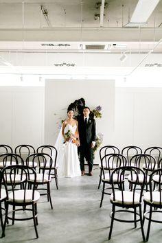 Modern Wedding Venue, Modern Wedding Stationery, Loft Wedding, Space Wedding, Chapel Wedding, Wedding Art, Wedding Details, Wedding Ideas, Wedding Theme Inspiration