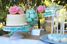 Ribbons and Lace Guest Dessert Feature | Amy Atlas Events