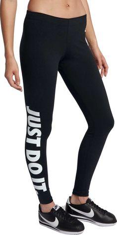 69a25956b44f5 Nike Women's Sportswear Just Do It Leg-A-See Leggings