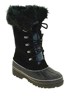 644109a545d3 Khombu Womens Nordic Boot Black 8   This is an Amazon Affiliate link. You  can