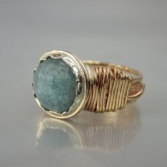 Hey, I found this really awesome Etsy listing at https://www.etsy.com/listing/227259378/aquamarine-gemstone-ring-blue