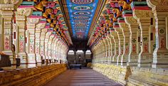 One of the most #sacred #temples of #India : #Rameshwaram #Temple, #Tamil Nadu. According to legends, this is the place where Lord Rama, built Shiv Linga with his hands, this linga is now #Ramanathaswamy Linga or Rama lingam and is worshipped at the Rameshwaram Temple. It is also one of the Char Dham sites. The other three are: Badrinath, Dwarka and Puri. #boutindia #travel #Indiatours #tripstoIndia #Indiatourpackages #templetours #tamilnadutourpackages