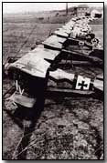 German aeroplane squadron