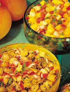 Fresh & Fruity Grilled Pineapple Salad
