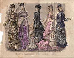 April, 1879 - Godeys Fashions
