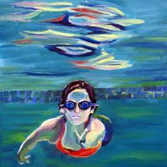Peace Sam III, painting by artist Nancy Spielman