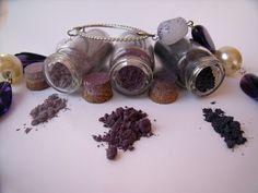 Misha Beauty - přírodní kosmetika a jiné DIY projekty : Švestky v létě - minerální stíny 12, 13,14