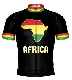 Africa Collection Bike Wear, New Africa, Cycling Jerseys, Cycling Outfit, Apparel Design, Jersey Shorts, Bibs, First Love, Tank Tops