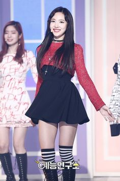 TWICE NaYeon - this outfit was so iconic Stage Outfits, Kpop Outfits, Korean Outfits, Girl Outfits, Cute Outfits, Estilo Fashion, Kpop Fashion, Korean Fashion, Kpop Girl Groups