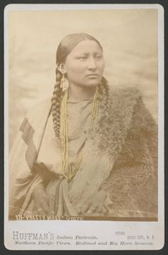 """Pretty nose?  We think the rest of her is pretty as well!""  Pretty Nose - Northern Cheyenne - 1878"