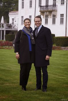 Queens & Princesses - Princess Victoria and Prince Daniel visited the town of Ostra Goinge, County of Skane, southern Sweden.