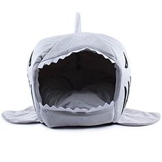 HarukokoroTMWarm Soft Dog House Pet Sleeping Bag Shark Dog KennelCat Bed Cat House M -- You can get additional details at the image link.Note:It is affiliate link to Amazon.