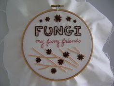 Fungi embroidery 01 - finished full