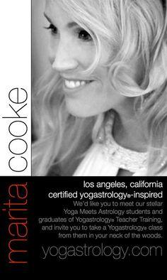 :: BOOK : DVD :: Certified Yogastrology®-Inspired (yoga teacher in Los Angeles) Marita Cooke, Ch. 2, Taurus = Neck > http://yogastrology.com/teacher-training/bookdvd/