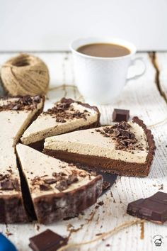 Smotanu Chef Recipes, Raw Food Recipes, Sweet Recipes, Dessert Recipes, Food Porn, Chocolate Espresso, Fancy Desserts, Meal Replacement Smoothies, Sweet Pie