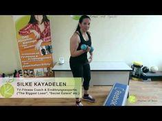 Schöne Arme in 10 Wochen. Teil 2: Übungen für den Bizeps (Abnehmen mit Silke Kayadelen)