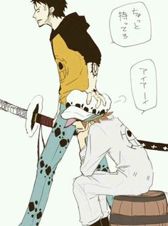 Don't mess with laws nakama/Law,Sachi/One piece