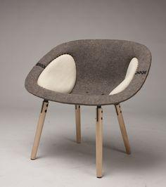 Etta, A Chair by Will Hinnefeld, via Behance