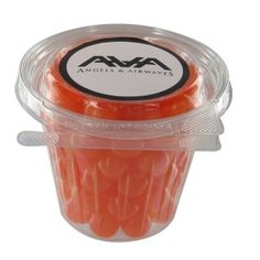 Fruit Sours in custom colors... great for office leave behinds!