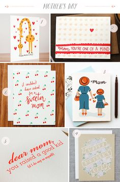 Oh So Beautiful Paper: Seasonal Stationery: Mother's Day, Part 2
