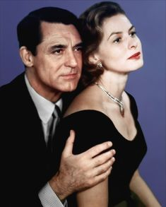 """Ingrid Bergman & Cary Grant, deliriously gorgeous in Stanley Donen's """"Indiscreet"""". LOVE"""